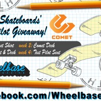 "Wheelbase x Comet Skateboards ""Test Pilot"" Giveaway"