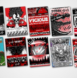 Vicious Package Design Challenge: Top Ten Finalist. Vote Now On Facebook.