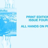 ISSUE FOUR. All Hands On Print!