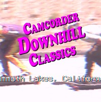 Camcorder Downhill Classics: Mammoth, 1999