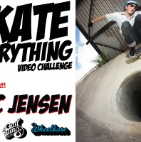 """Eric Jensen Wins the """"Skate Everything"""" Video Challenge & the $500 Grand Prize!"""