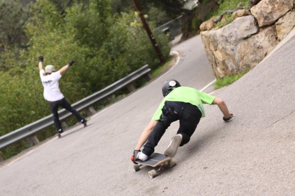 Dudes getting all shreddy wit' it. Photo: Bandy