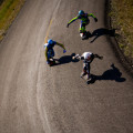 A couple Maryhill Freeriders from a helicopter's point of view. Photo: Bandy