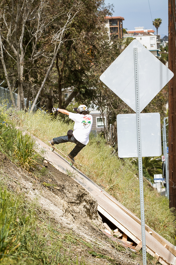 "This guy shredded hard all day, with a smile. Stoked! ""Radtrain"" Riha. Photo: David Marano."