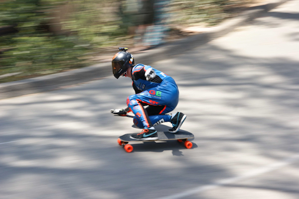 Switzer looking fast early on. Photo: Ruano.