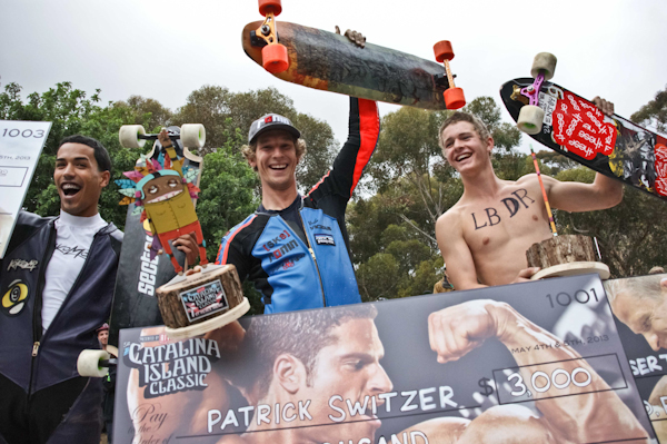 Men's podium. Photo: Ruano.