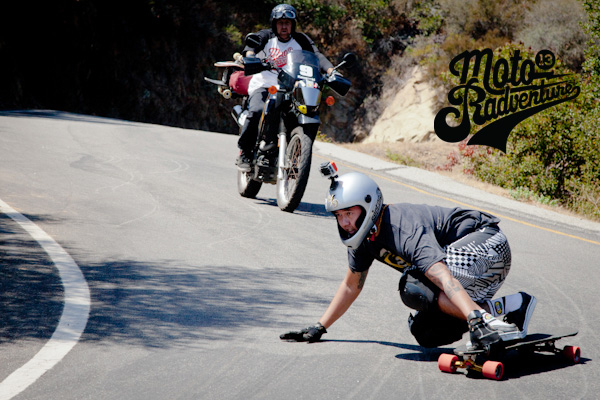 Ricardo Reis & Jeff Budro getting rad in Malibu. Photo: Ruano.
