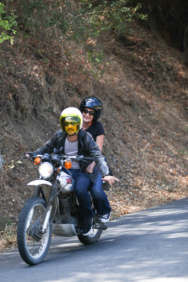 Ryan & Ashley. Joy ridin'. Photo: Ruano.
