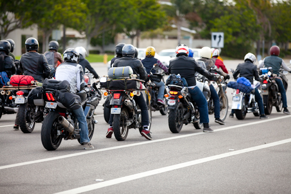 We rollin' mob deep! Photo: Ruano.
