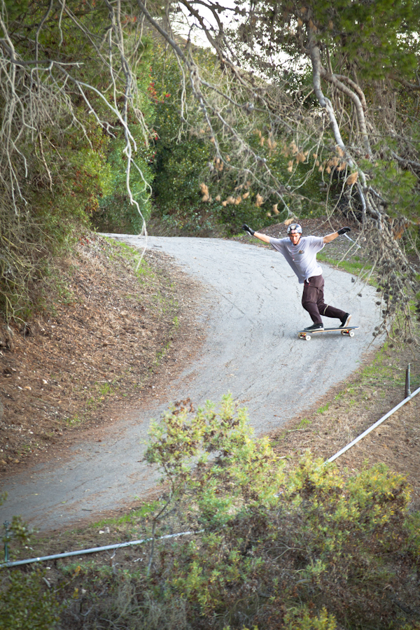 Byron found a new spot, then he shredded it. Photo: Bandy.