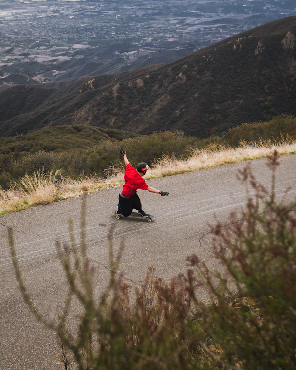 Gotta love dem Santa Barbara hills! Photo: David Marano.