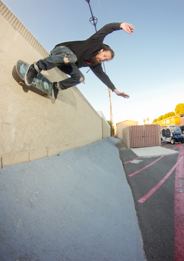 Bank-to-wall jammer. Photo: Bandy.