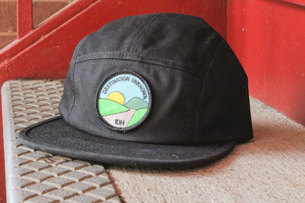 "Illdownhill ""Destination Unknown"" five panel cap."