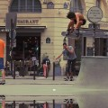 Bruno Sirera Skateboarding in Paris, France - Bustin Boards, PerroPro