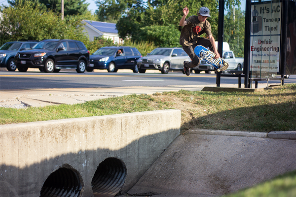 Kreutter's Kronicles with John Kreutter - Boneless into Ditch - Wheelbase Magazine Downhill Skateboarding Longboard Stuff
