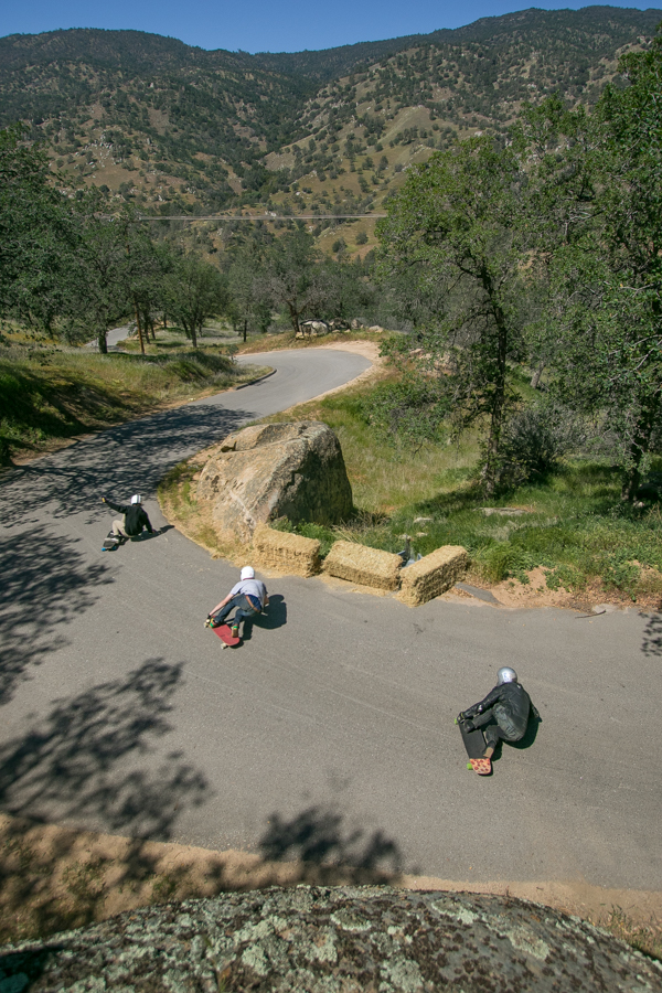 Three amigos sending-it in Bakersfield, California. Photo: Bandy