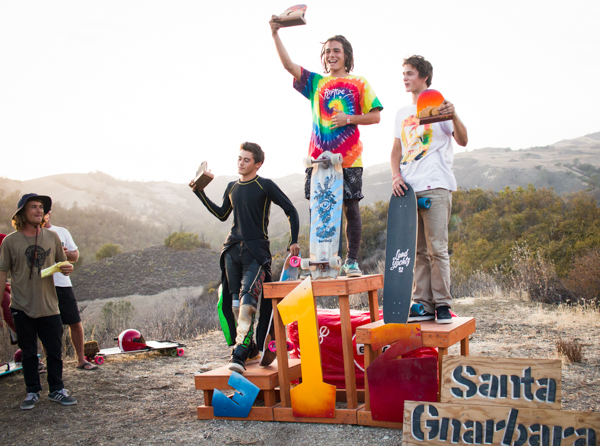 SantaGnarbara_2015_Grove_Podium_groms (1 of 1)
