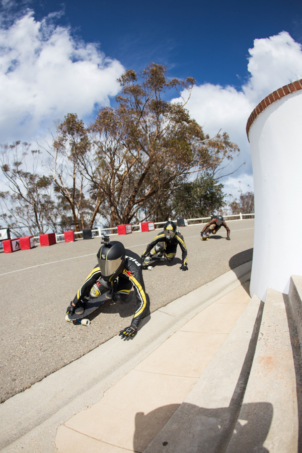Sector 9 crew mobbing down. Photo: Grove
