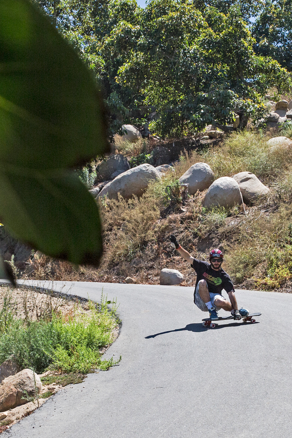 Jimmy Riha's got style, speed, and flow. Always a good time to see him do his thing out on the hills. Photo: Grove.
