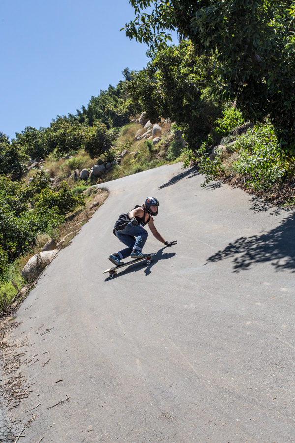 Adrian Cole dropping in on slopes of avocados. Photo: Grove.