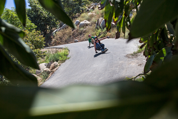 Doubles through Avocado Farms, Somos homies with the follow flow. Photo: Grove.