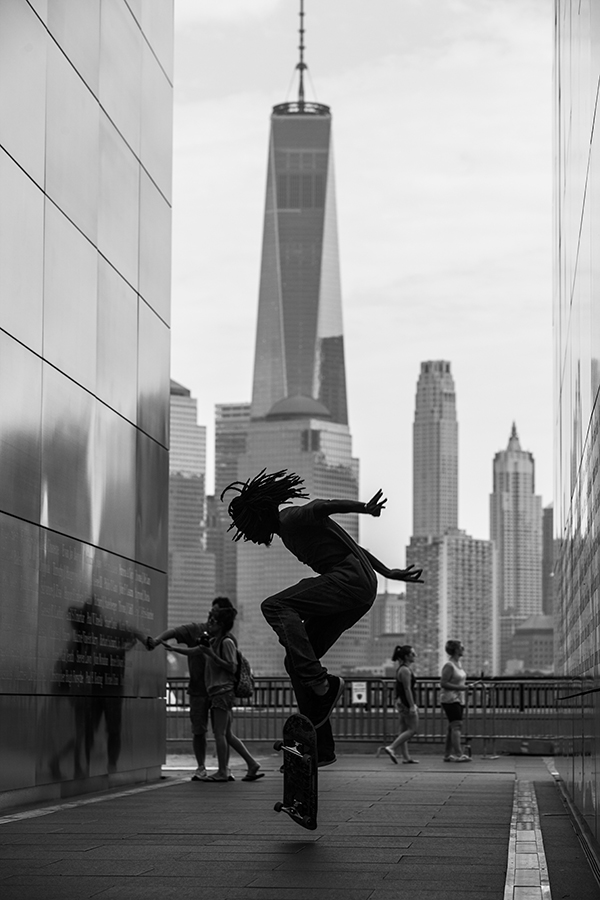 Prince pops a nollie in honor of 9/11. Photo: Khaleeq.