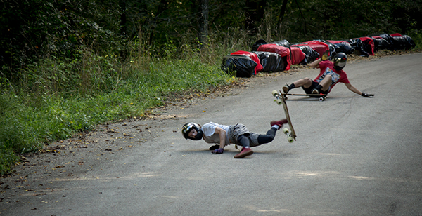 Breakdancing the kink. Photo: Dan Kelly.