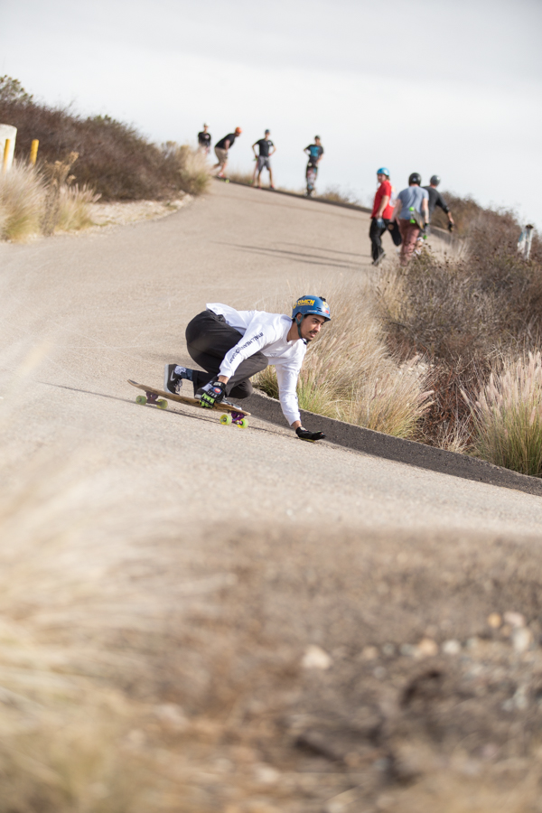 CVLB Fitz Illingworth taking the fast lines.  Photo: Grove