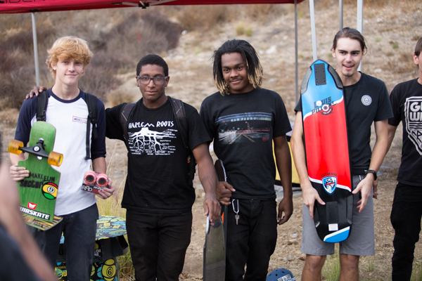 Slide Jam Winners; Patrick Doughtery, Miles Webb, Tyson Brown, _____.  Photo: Grove