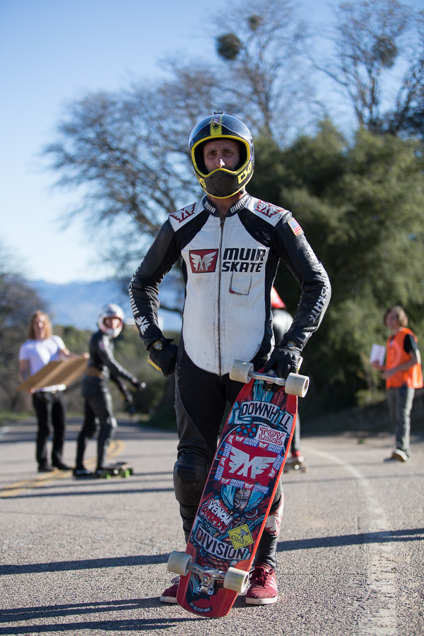 The man behind the brand, taking riders out to backside in the muir van for years, Scott Lembach.