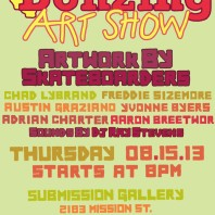 Bonzing Art Show, Aug. 15th in SF
