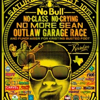 "The ""No Bull"" Garage Race. Houston, TX"