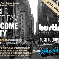 World Skate Fam Welcome Party – Friday, Oct. 11th
