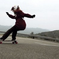 Video: Cristina Mandarina Burning Wheels