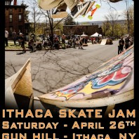 "Comet Skateboards' ""Ithaca Skate Jam"" – April 26th"