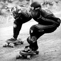 DC's 5th Annual, Birthday Outlaw Downhill Skateboard Race.