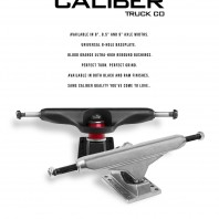 Caliber Truck Co. Releases a Traditional Kingpin Truck