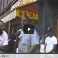 Biggie Smalls, 17-year-old , freestylin' in Brooklyn '89.