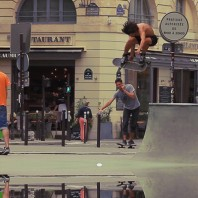 Bruno Sirera Street Skating in Paris