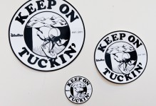 Keep on Tuckin' Sticker-Pack