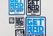 Get Rad or Get Lost Sticker-Pack