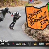 Soldiers of Downhill 2014 with MuirSkate