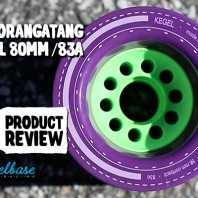 "Orangatang ""Kegel"" 80mm 83a – Wheel Review"