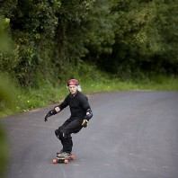 76-Year-Old Downhill Skateboarder Featured In San Francisco Chronicle.