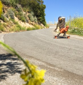 Dusty bombing in Malibu. Photo: Bandy.