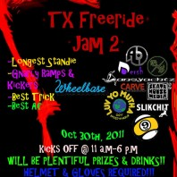 2nd Annual Texas Slide Jam: October 30th