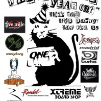 "Xtreme Boardshop: ""Where Did The Year Go?"" Slide Jam & Shop Party. Saturday, 2/25."