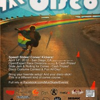 The 2012 Downhill Disco: Freeride-Style Cone Race & Slide Jam, 4/14/12.
