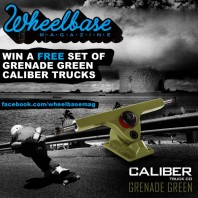 "The Wheelbase ""Grenade Green"" Caliber Truck Co Facebook Giveaway: July, 2012"