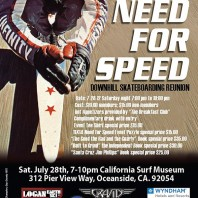 "Need For Speed ""Downhill Skateboard Reunion"": 7/28/2012"